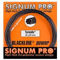 Струни тенісні Signum Pro Tornado 12.2 м Чорні