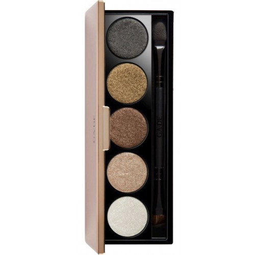Палетка теней для век Highlights Metallic Eye Shadow Palette GA-DE