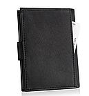 Шкіряний гаманець натуральна шкіра BETLEWSKI з RFID 9,5 х 12,5 х 2 (ТРМ-KZ-67)- чорний, фото 3