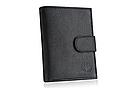 Шкіряний гаманець натуральна шкіра BETLEWSKI з RFID 9,5 х 12,5 х 2 (ТРМ-KZ-67)- чорний, фото 6