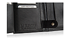 Шкіряний гаманець натуральна шкіра BETLEWSKI з RFID 9,5 х 12,5 х 2 (ТРМ-KZ-67)- чорний, фото 8