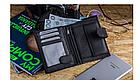 Шкіряний гаманець натуральна шкіра BETLEWSKI з RFID 9,5 х 12,5 х 2 (ТРМ-KZ-67)- чорний, фото 9