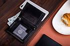 Чоловічий шкіряний гаманець Betlewski з RFID, фото 9