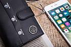 Шкіряний вертикальний гаманець BETLEWSKI  RFID, фото 7