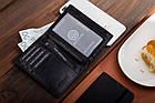 Чоловічий гаманець з натуральної шкіри BETLEWSKI  RFID, фото 9