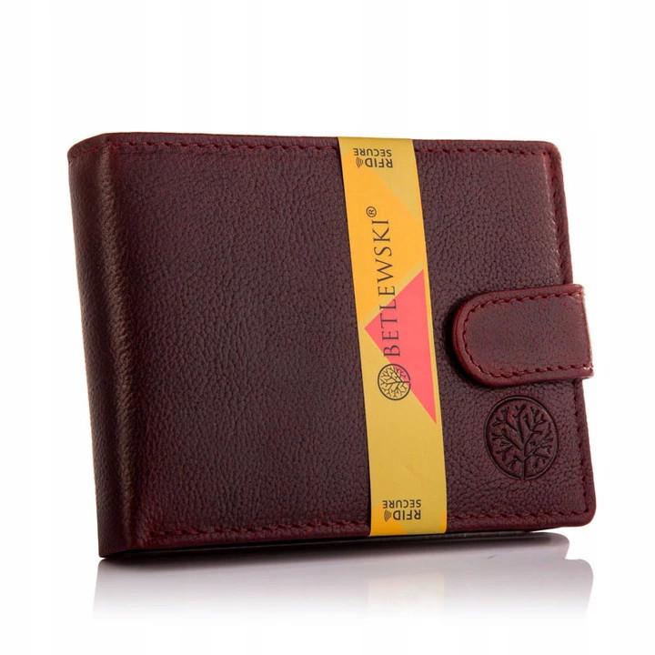 BETLEWSKI шкіряний гаманець RFID
