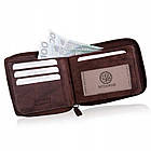 Шкіряний гаманець BETLEWSKI RFID, фото 5