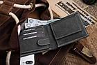 Чоловічий шкіряний гаманець Betlewski RFID, фото 2
