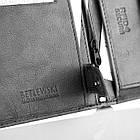 Чоловічий шкіряний гаманець BETLEWSKI RFID слайдер, фото 4
