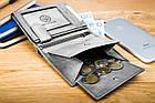 Чоловічий шкіряний гаманець BETLEWSKI RFID слайдер, фото 5