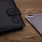 Чоловічий шкіряний гаманець Betlewski з RFID 9,2 х 11 х 2 (BPM-GTN-63) - чорний, фото 4