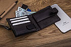 Чоловічий шкіряний гаманець Betlewski з RFID 9,2 х 11 х 2 (BPM-GTN-63) - чорний, фото 5