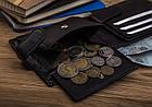 Чоловічий шкіряний гаманець Betlewski з RFID 9,2 х 11 х 2 (BPM-GTN-63) - чорний, фото 6
