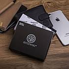 Чоловічий шкіряний гаманець Betlewski з RFID 9,2 х 11 х 2 (BPM-GTN-63) - чорний, фото 7