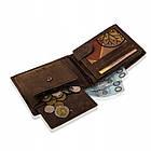 Шкіряний гаманець BETLEWSKI з RFID 9,5 х 12,5 х 2,5 (BPM-HT-60A) - коричневий, фото 6