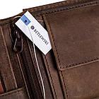 Шкіряний гаманець BETLEWSKI з RFID 9,5 х 12,5 х 2,5 (BPM-HT-60A) - коричневий, фото 9