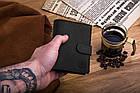 Шкіряний гаманець BETLEWSKI RFID 12.8 х 10 х 2.5 (BPM-HT-64) - чорний, фото 5