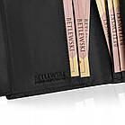 Шкіряний гаманець BETLEWSKI RFID 12.8 х 10 х 2.5 (BPM-HT-64) - чорний, фото 7