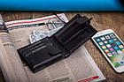 Чоловічий шкіряний гаманець Betlewski RFID, фото 5