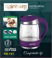 Электрический стеклянный чайник Rainberg RB-707