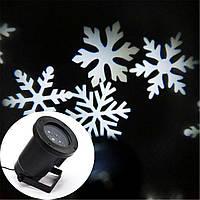 Лазерный проектор Star Shover WHITE Snowflake, фото 1
