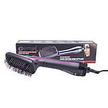 Фен-щетка для волос Gemei GM-4838, фото 6