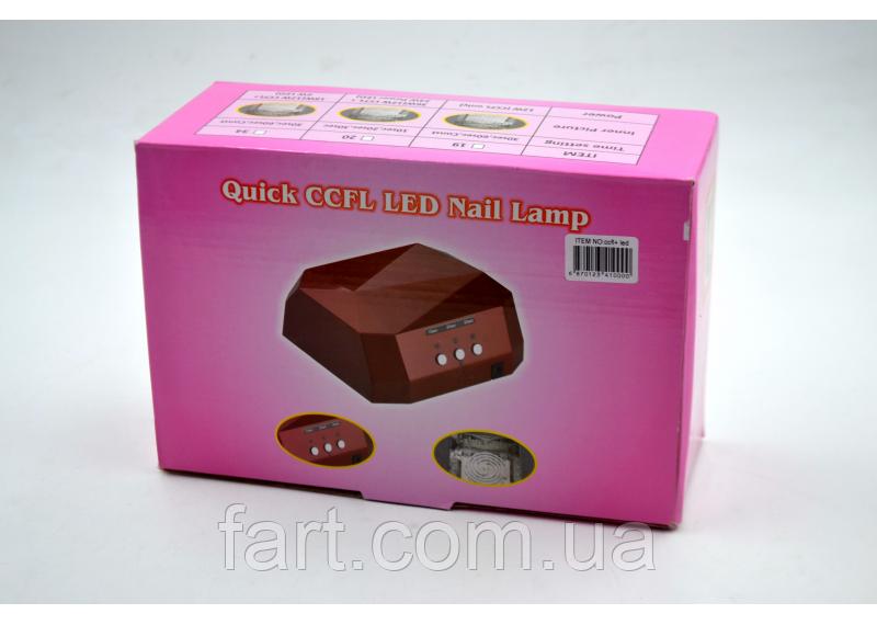 Лампа для маникюра Quick CCFL LED Nail Lamp
