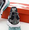 "Мужские кроссовки Nike Air Max 270 React ""Gray/Black/Blue"" (Premium-lux) разноцветные, фото 7"
