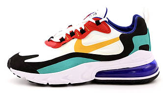 Мужские кроссовки Nike Air Max 270 React  (Premium-lux) разноцветные