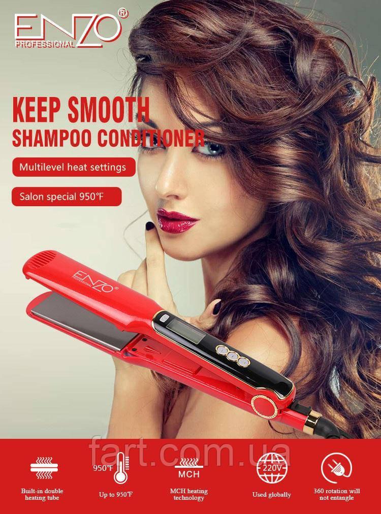 Утюжок выпрямитель для волос Enzo EN-3852