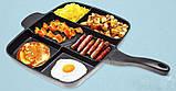 Универсальная антипригарная сковорода-гриль Magic Pan 246-10 , фото 3