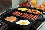 Универсальная антипригарная сковорода-гриль Magic Pan 246-10 , фото 4