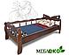 """Кровать детская \ подростковая для девочки из натурального дерева """"Бабочка""""., фото 2"""