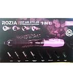Фен-щетка 9 насадок Rozia HC-8111, фото 4
