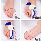 Шина для отведения большого пальца стопы, Ортопедический корректор косточки Toes device bunion, фото 5