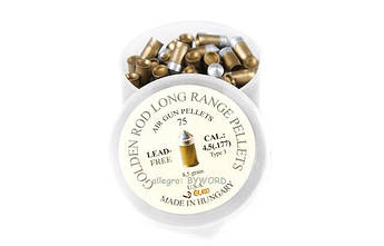 Кульки сталево-тефлонові Golden Rod Lang Range 4,5 мм