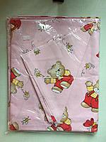 Комплект детского постельного белья в кроватку, бязь Голд Люкс, 110х140 см, в ассортименте