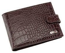 Чоловічий гаманець шкіряний коричневий Butun 208-002-004