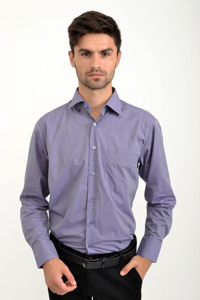 Рубашка 9021-27 цвет Сиреневый