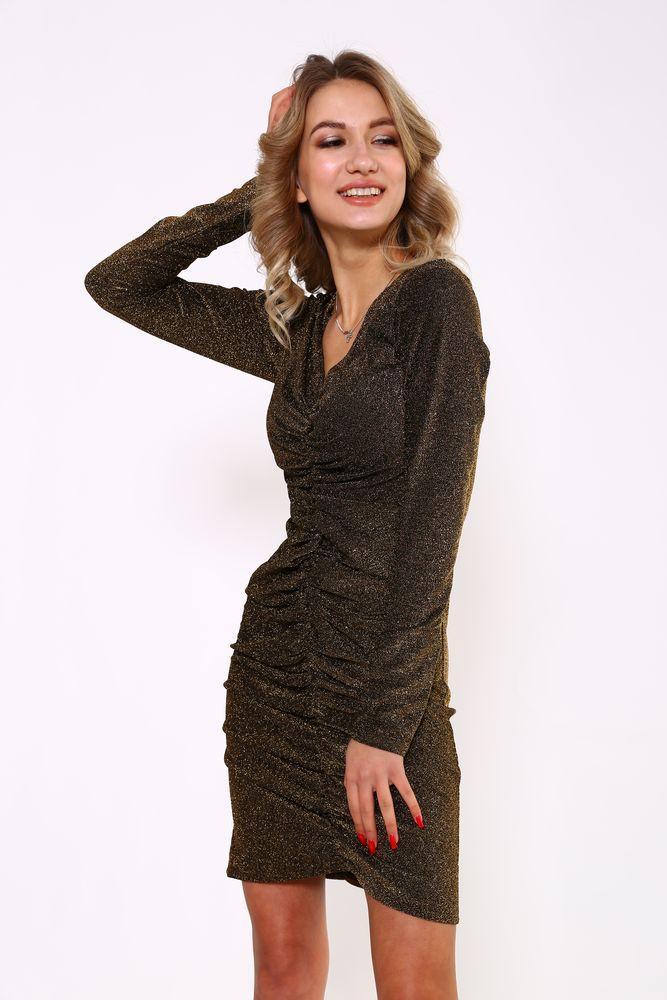 Платье женское 115R351 цвет Золотистый