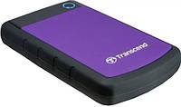 """Внешний жесткий диск (HDD) Transcend 500GB TS500GSJ25H3P Storejet 2.5"""" USB 3.0 Purple"""