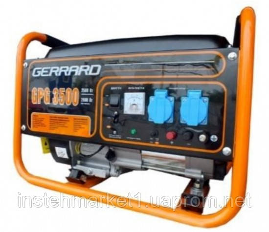 """Бензиновый генератор (электростанция) Gerrard GPG 3500 E (2,5 кВт-2,8 кВт) - Интернет-магазин """"Инстехмаркет"""" в Днепре"""