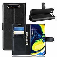 Чехол-книжка Litchie Wallet для Samsung Galaxy A80 / A90 Black