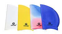 Шапочка для плавания, силиконовая, безразмерная, универсальная (цвета в ассортименте)