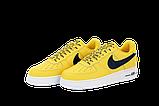Чоловічі кросівки Nike Air Force (Premium-lux) жовті, фото 5