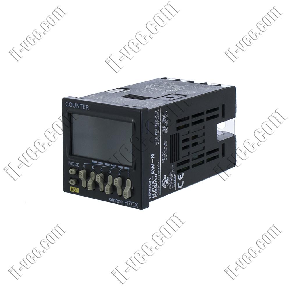 Счетчик электронный OMRON H7CX-AW-N, импульсы /скорость