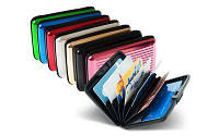 Алюминиевый кошелек-визитница Aluma Wallet, Гаманець Алюма Валет, визитница, кошелек для визиток