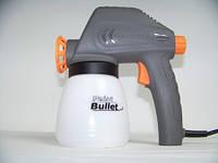 Электрический краскораспылитель, пульверизатор ,краскопульт, Paint Bullet, Пэйнт Буллет