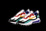 Мужские кроссовки Nike Air Max 270 React (Premium-lux) разноцветные, фото 3