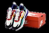 Мужские кроссовки Nike Air Max 270 React (Premium-lux) разноцветные, фото 4